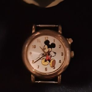 Mickey Mouse watch, used.